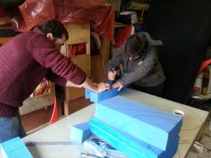 fabrication floteur
