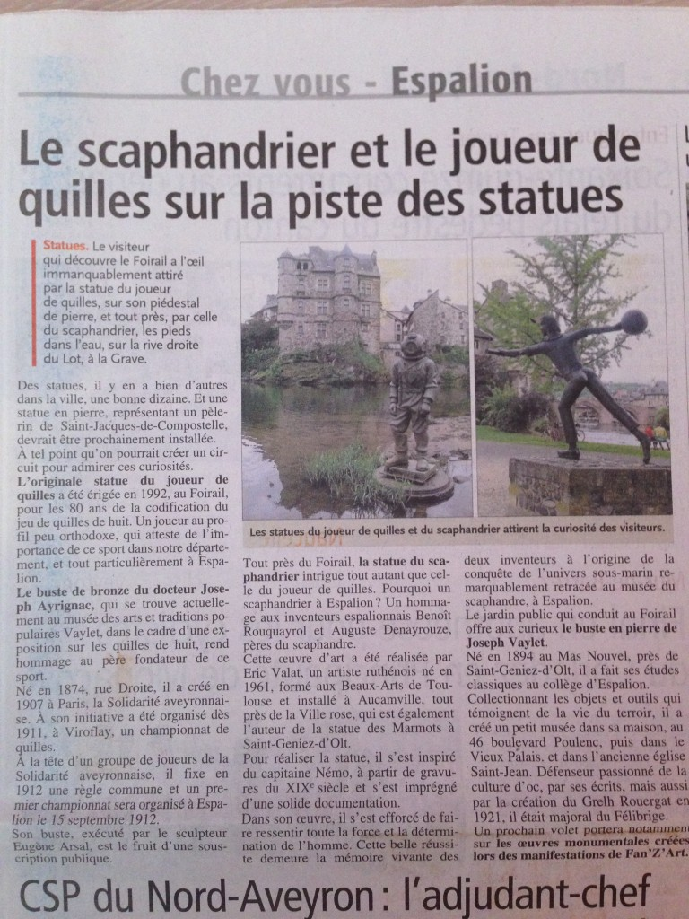 article centre presse 11 Mai 2014